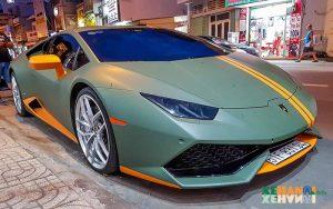 Chiếc siêu xe Lamborghini Huracan Avio cực đẹp