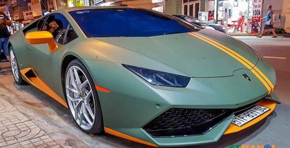 Chiêm ngưỡng Lamborghini Huracan Avio tại Sài Thành