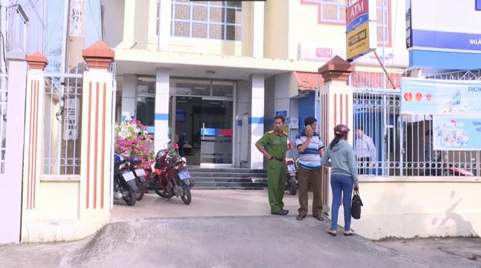 Ngân hàng Vietinbank nơi vụ cướp xảy ra