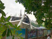Sập trường mẫu giáo ở Hà Nội