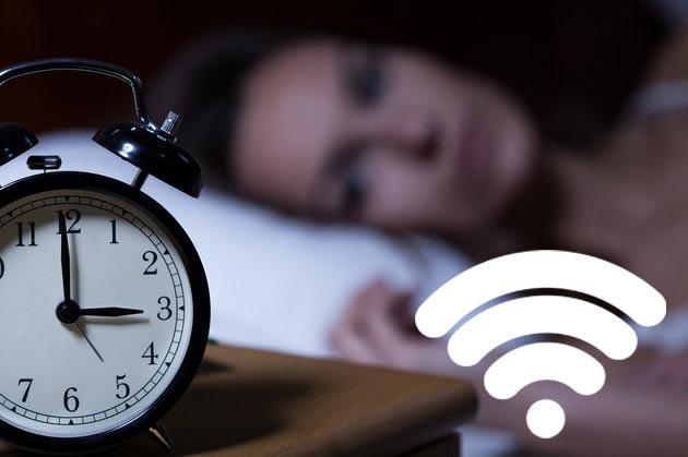 Wifi tác động làm cho mất ngủ