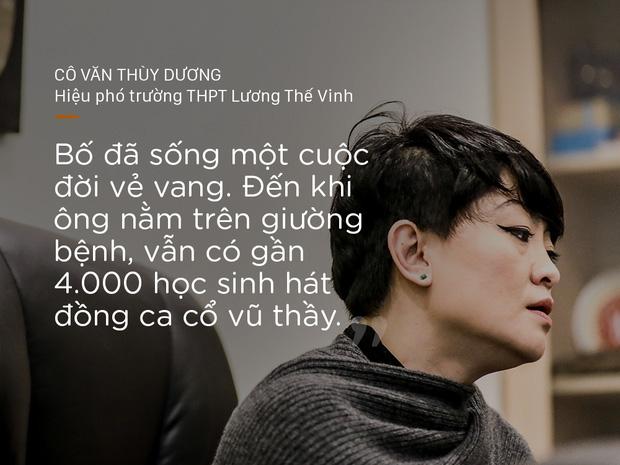 Cô Văn Thùy Dương nói về cha mình