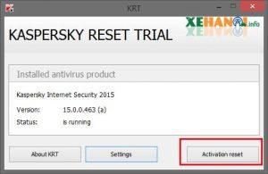 Kaspersky Trial Reset