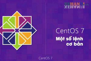 Một số lệnh cơ bản dùng trong CentOS