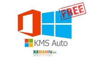 Sử dụng Windows, Office full bản quyền với KMS Auto Net 2016 v1.5.3