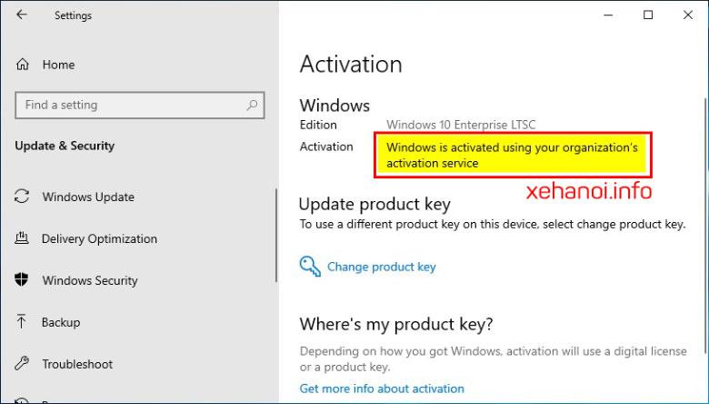 Cách kiểm tra cách Active Windows 10 Digital License bằng tùy chọn KMS38