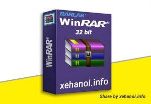 Phần mềm Winrar 5.21 Tiếng Việt