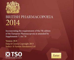 British Pharmacopoeia 2014