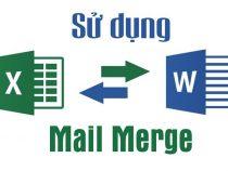 Sử dụng dấu phân cách hàng ngàn trong Mail Merge