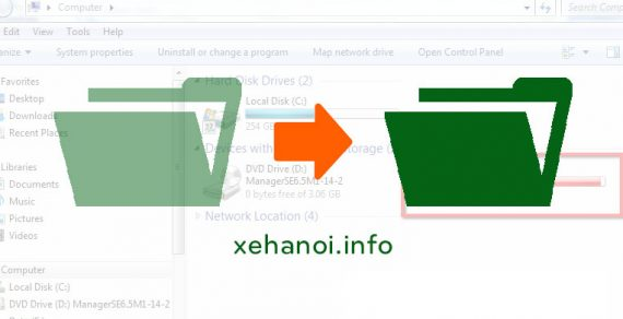 Cách hiện file ẩn trong USB bị nhiễm virus Windows XP/7/8/10