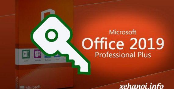 Chia sẻ key Microsoft Office 2019 full bản quyền