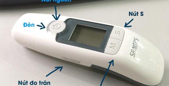Hướng dẫn sử dụng nhiệt kế điện tử Sanitas SFT 77 chi tiết nhất