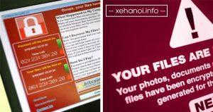 Virus mã hóa file đòi tiền chuộc nguy hiểm