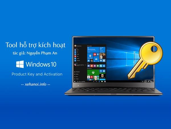 Tool hỗ trợ kích hoạt Windows Office