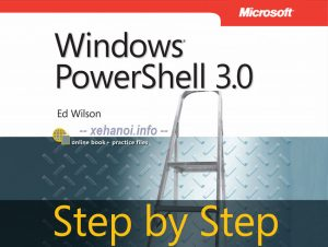 Chia sẻ ebook Windows PowerShell 3.0 Step by Step (PDF)