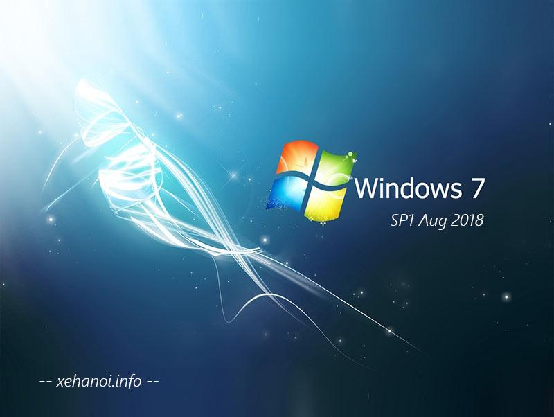 Tải Windows 7 SP1 cập nhật đến tháng 8 năm 2020