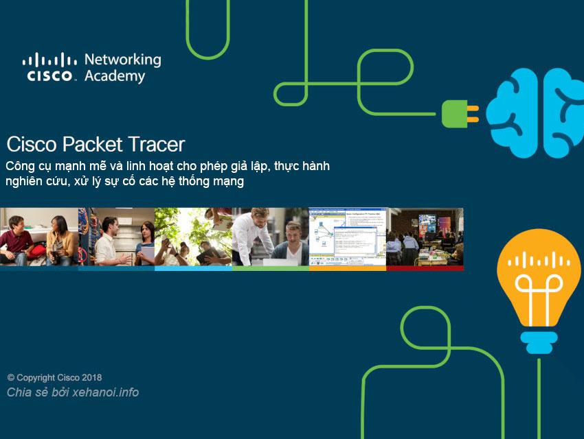 Phần mềm giả lập mạng máy tính Cisco Packet Tracer 7.2 và 7.3
