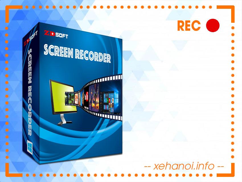 ZD Soft Screen Recorder 11.3.0 - phần mềm quay video màn hình