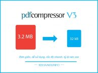 Nén file pdf với PDF Compressor V3 full chức năng, key kích hoạt